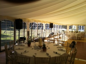 Wedding Band PA at Prideaux Place, Padstow