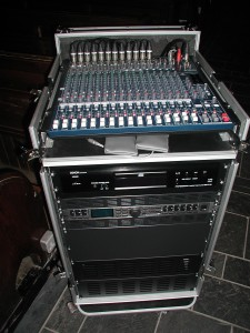 Complete PA Rack