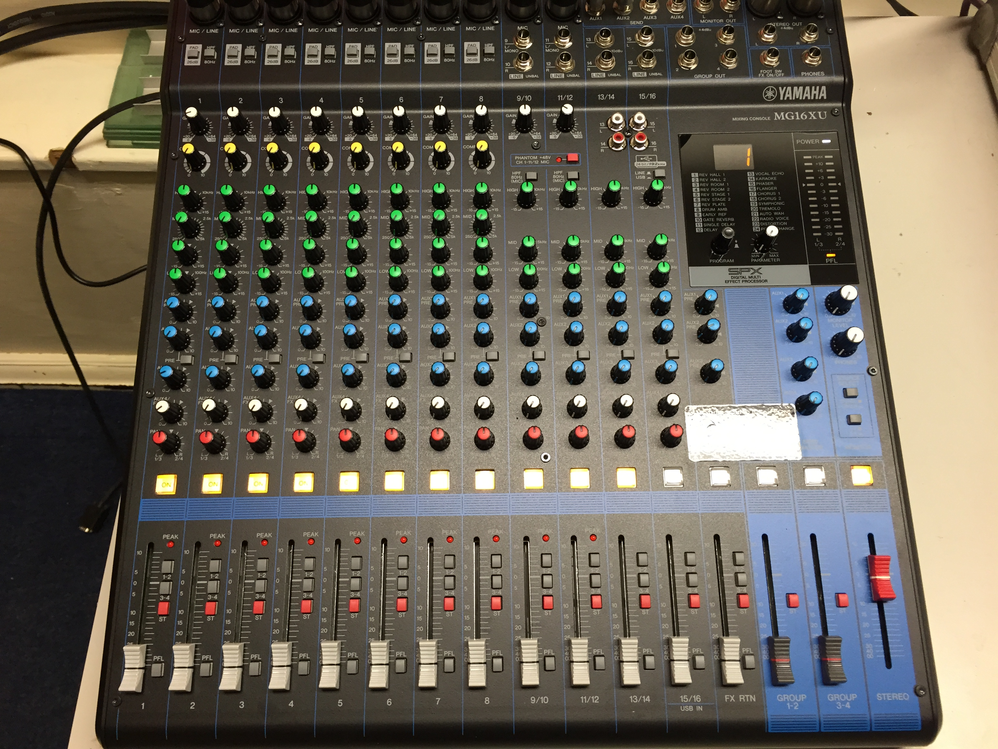 New Stage Sound System For Helston Community College