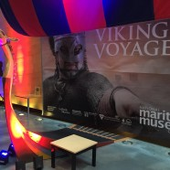 Viking Voyagers opening ceremony at National Maritime Museum Cornwall
