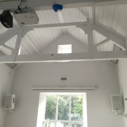 Lottery funded audio-visual installation for Philleigh Village Hall